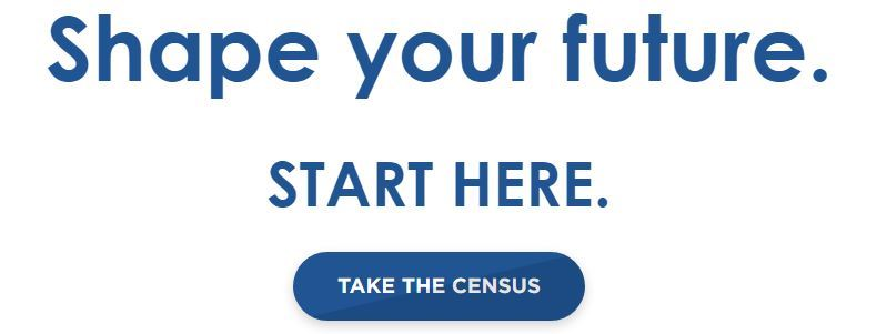 Take the Census - Button